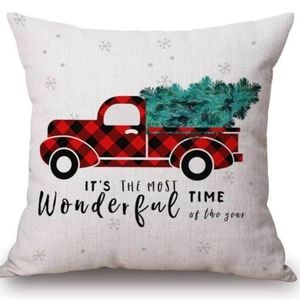 🎄Christmas tree Cover pillow Case Wagon